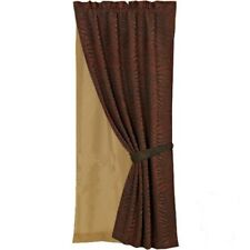 Red Zebra Curtain and Sheer Lining With FREE Shipping!