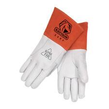 Black Stallionrevco 35kf Alpha Tig Lined Kidskin Welding Gloves Large
