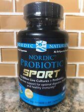 Nordic Naturals Nordic Probiotic™ Sport 60 Capsules (Exp 1/19)