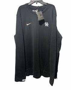 Nike Dri-Fit On Field Kentucky Wildcats Pullover Black CQ5049-010 Large
