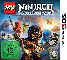 LEGO Ninjago: Schatten des Ronin (Nintendo 3DS, 2015) mit OVP und Anleitung