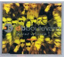 DB BOULEVARD POINT OF VIEW REMIXES CD SINGOLO SINGLE cds SIGILLATO!!!