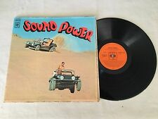 SOUND POWER GRAHAME BEGGS RARE PSYCH FUNK 1970 SOUTH AFRICA RELEASE LP