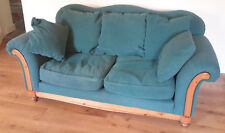 Ducal 2 seater Sofa Settee Solid Pine Frame Good Used Condition