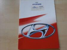 54196) Hyundai Accent Lantra Sonata Coupe Prospekt 10/1996