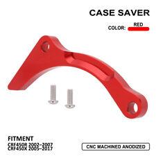 Case Saver Sprocket Engine Guard For Honda CRF450X 2005-2017 CRF450R 2002-2007