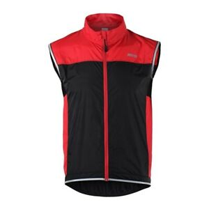 Windproof Sleeveless Cycling Vest Outdoor Sports Bike Bicycle Windbreaker Jacket