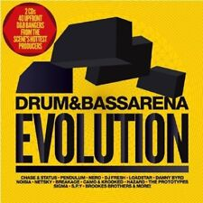 Drum & Bass Arena EVOLUTION 2 CD NUOVO-Chase & Status, Delta Heavy, breakage