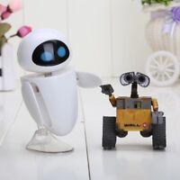 WALL E u. Eve Figuren Roboter Müll Liebe Film Action Sammler DVD Spiel Figur NEU