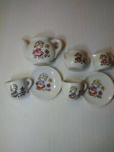 Vintage Madeline Set of 7 Pieces Child's Japanese Tea Set