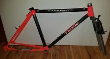 "Vintage Trek 8700 Pro Carbon Composite 18"" MTB frame + fork 1991 mountain bike"