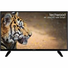 "Techwood 49AO6USB 49"" 2160p 4K Smart LED Television"