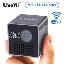 Mini P1+ WIFI Home Theater Multimedia 1080P HD LED DLP Projector Portable Pocket