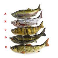New Bait Hooks Minnow Fishing Lures Crank  Bass Crankbaits Tackle Sinking