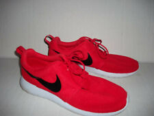 NIKE Free 4.0 Flyknit Mesh Bright Crimson/White black Athletic Shoes Men's 11.5