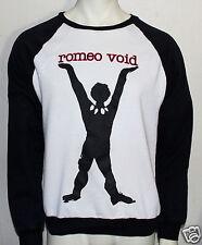 Romeo Void vintage sweat shirt upcycled to a OOAK custom sweat shirt
