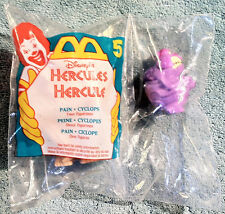 1996 McDonald's Happy Meal Toy  HERCULES  -  Pain Cyclops (#5)  - MINT / SEALED