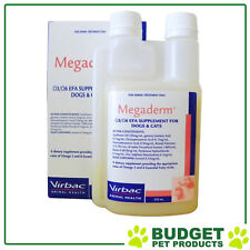 Megaderm Omega 3 & 6 For Dogs and Cats 250ml