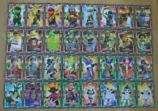 Lego Ninjago™ Series 4 Trading Card Game all 32 Crystal Cards Complete