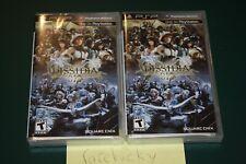 Dissidia 012: Duodecim Final Fantasy (Sony PSP) NEW SEALED Y-FOLD MINT, RARE!