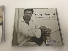 Donny Osmond - Somewhere in Time (Classic Love Songs CD Special Edition], 2003)