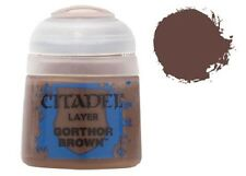 GAMES WORKSHOP CITADEL COLORE ACRILICO 12ml 22-47 LAYER GORTHOR BROWN