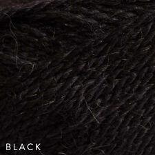10 X 50g Patons Jet 12ply 70 Wool 30 Alpaca #815 Black Soft Knitting Yarn