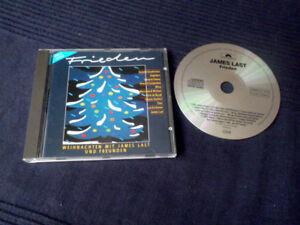 CD Weihnachten James Last+Freunde FRIEDEN Milva Carpendale Claydermann Engelbert
