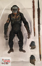 """KOBA 'WAR PAINT' Dawn Of The Plant Of The Apes NECA 2014 7"""" Inch LOOSE FIGURE"""