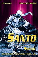 Santo El Enmascarado De Plato Vs. Los Villanos Del Ring - DVD