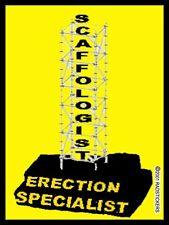 Scaffologist, Scaffold builder sticker CC-4