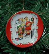 Campbell's Soup Kids Ceramic Plate Christmas Ornament