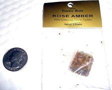 "Awesome 5 Gm Premium ""Rose"" Amber Resin""~Incense~Aroma theropy-Vampires - Gnr"