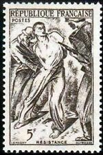 "FRANCE TIMBRE STAMP N°790 ""RESISTANCE, 5F"" NEUF XX TTB"