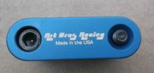 "Art Bros Racing 1"" Seat Clamp 100% USA made fit cook jmc hutch gt Old School BMX"