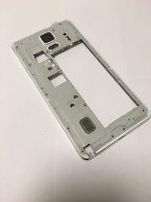 Original ! Samsung Galaxy Note 4 N910F Mittelrahmen Middle Case Gehäuse Weiss