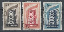 LUXEMBOURG 1956 EUROPA USED SET (x3) (ID:477/D58594)