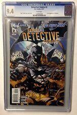 BATMAN DETECTIVE COMICS #2 CGC 9.4 1ST FULL APPEARANCE OF DOLLMAKER  DC NEW 52