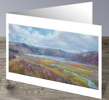 Loch Muick - Cairngorms by Howard Butterworth Scottish Fine Art Greeting Card