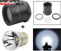 1000Lumen LED Conversion Head Bezel for Surefire 6P G2 G2Z C2 D2 Z2 Flshlight
