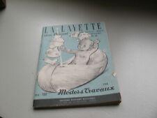 """Catalogue ancien  """"la layette au tricot"""" années 1950  par Modes et Travaux"""