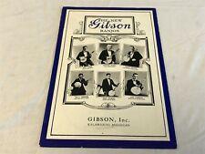 Vintage GIBSON The New Gibson Banjos Catalog 1976 Reprint
