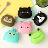 Cute Silicone Cartoon Animal Hasp Clutch Change Coin Purse Wallet Pouch Bag Case