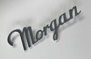 Morgan Script Chrome Badge, Morgan part; MBC2300