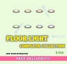 Floor Light Complete Collection 8 PCS FASTEST!!!
