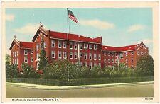 St. Francis Sanitarium in Monroe LA Postcard