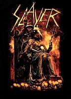 SLAYER cd lgo Robed RIB GOAT Cross Throne Official SHIRT MED New reign in blood