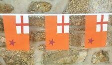 More details for orange order northern ireland flag polyester bunting - various lengths