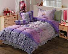 Double /  Queen size Bed Kids Comforter Set Quilt Bedspread Coverlet Set Parigi
