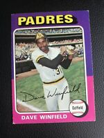 1975 Topps Dave Winfield San Diego Padres #61 Baseball Card